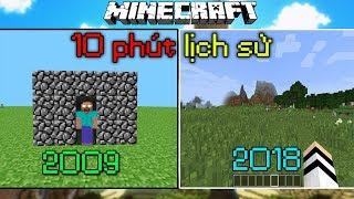 10 Phút Nhìn Lại Lịch Sử Minecraft !!