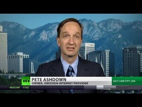 'NSA criminals, surveillance not part of my America' - Pete Ashdown