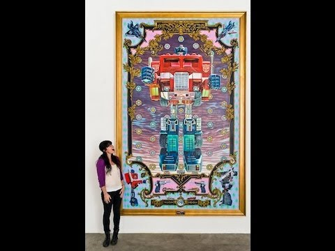 Huge Transformers Art in Time-Lapse. This Optimus Prime toy took 8 months to paint.