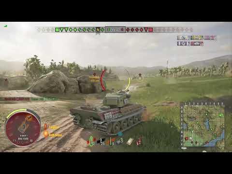 World of Tanks Xbox one HMH AMX M4 mle. 49 4 Kills