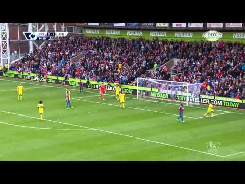 CRYSTAL PALACE - CHELSEA 1-2 18-10-2014