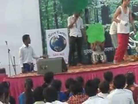 Dancing is good way of educating people to save Earth