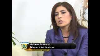 Dilogo Abierto Con Johanna Pesntez - Ministra De Justicia