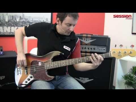 Fender American Vintage 62 Jazz Bass RW 3SB EXP
