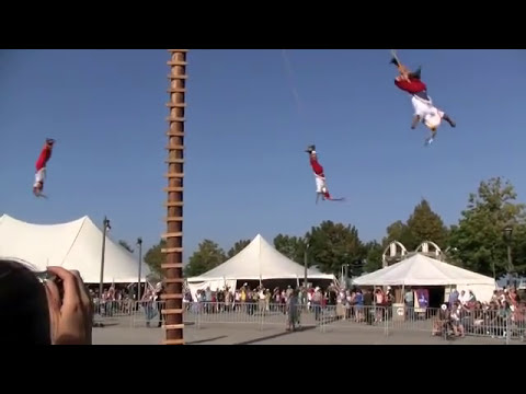 Danza de los Voladores de Papantla at Indian Summer Festival (Milwaukee, WI)
