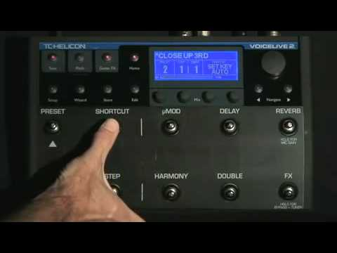VoiceLive 2 | Using fixed key and scale