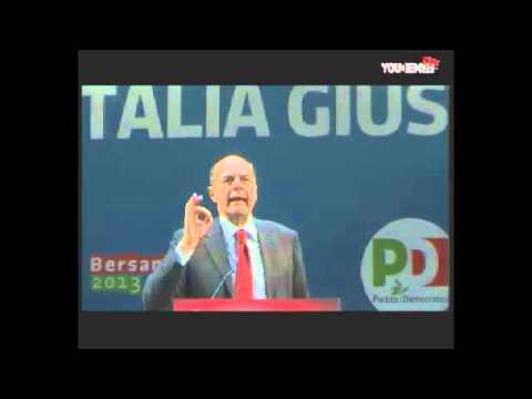 L'italia giusta – Pier Luigi Bersani a Genova