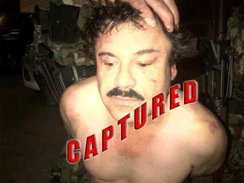 EL CHAPO GUZMAN of Sinaloa Cartel captured in Mexico Resort
