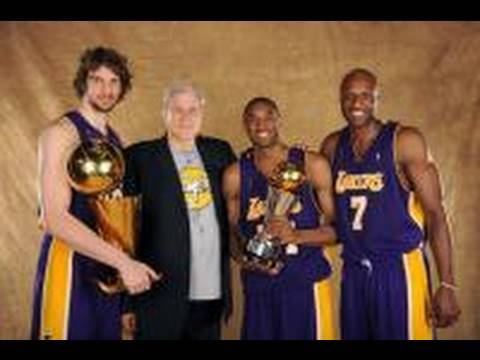 New Lakers NBA Championship song for Kobe,Bynum,Gasol,Artest,Fisher. Video