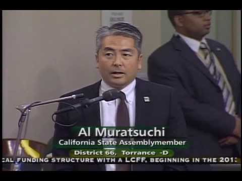 Assemblyman Muratsuchi Speaks on Compromise Education Budget