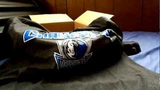 Dallas Mavericks T-Shirt:Unboxing