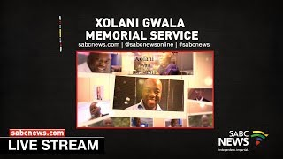 Veteran Journalist Xolani Gwala Memorial Service