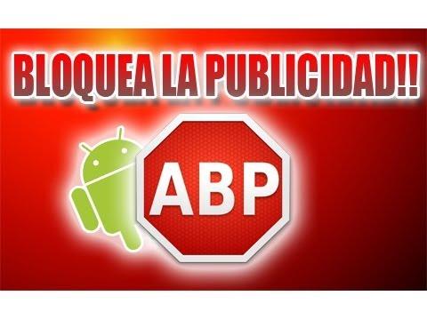 Bloquea la publicidad de tus aplicaciones y juegos en android