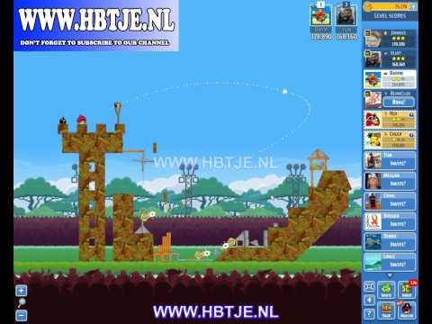 Angry Birds Friends Tournament Level 1 Week 118 (tournament 1) no power-ups