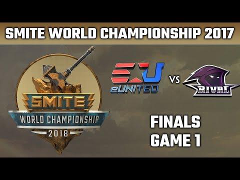 SMITE World Championship 2018: Finals - eUnited vs. Team Rival (Game 1)
