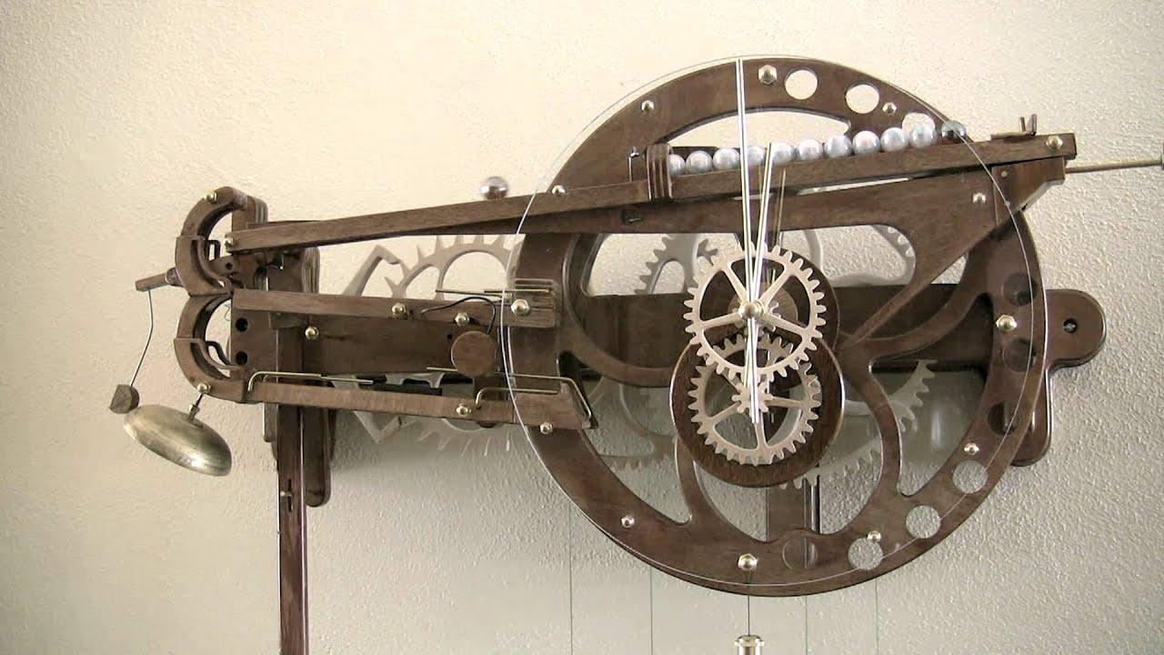 wooden clock plans clayton boyer