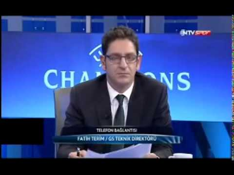 Fatih Terim Rıdvan Dilmen' e Kapak Yaptı (Braga 1-2 Galatasaray)