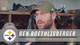 Ben Roethlisberger on Feeling Healthy, Tom Brady & More | Pittsburgh Steelers