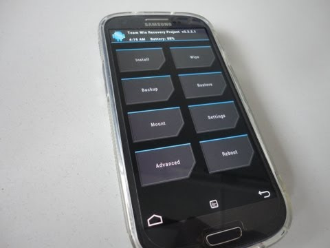 How To Install TWRP(Team Win Recovery ) On Samsung Galaxy S3