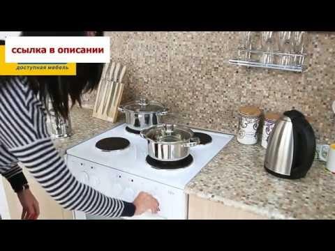 Кухонный гарнитур «Натали» Вишня Барселона Дуб Кремона Столплит Мебель!