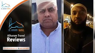 Happy Customer Reviews of Alharam Travel – ,Aziz Rasool,Riyad Mus,