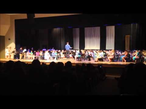 Grenada Middle School 6th Grade Band