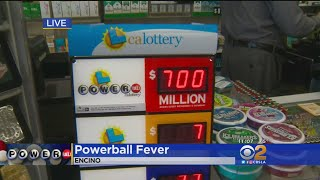 Rush Is On For Powerball Tickets