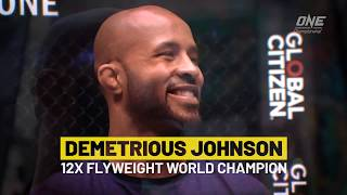 Why Demetrious Johnson moved to ONE Championship