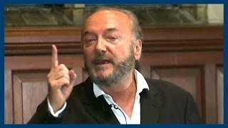 George Galloway   The State of Britain   Oxford Union