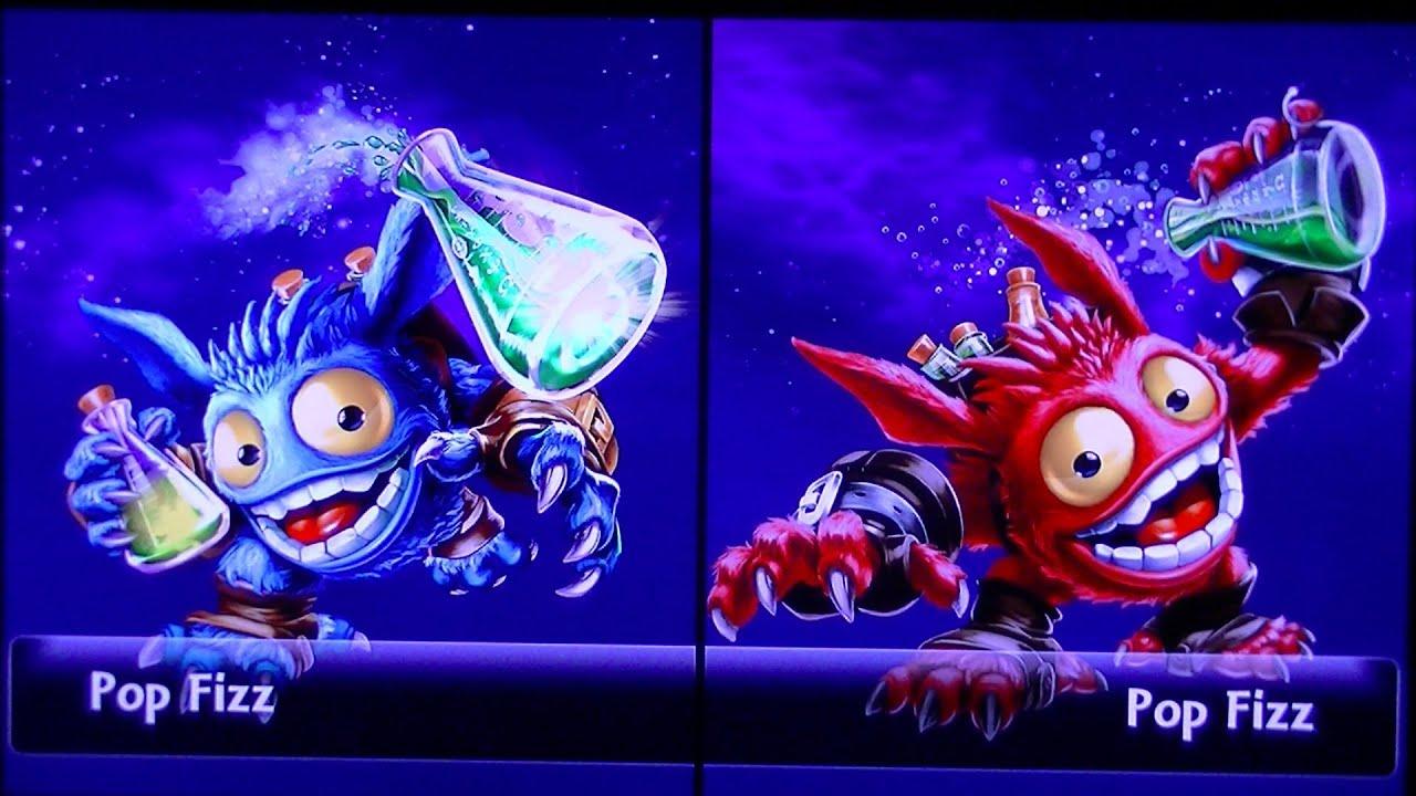 Lightcore Punch Pop Fizz Pop Fizz vs Punch Pop Fizz