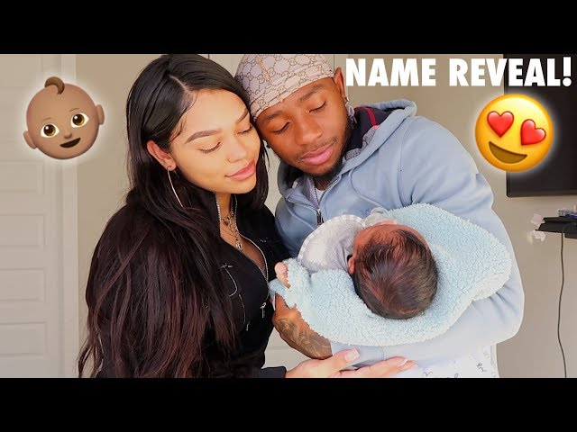 OUR OFFICIAL BABY NAME REVEAL!! thumbnail