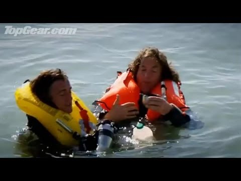 BBC: Challenge to cross The Channel in Car Boats! - Top Gear