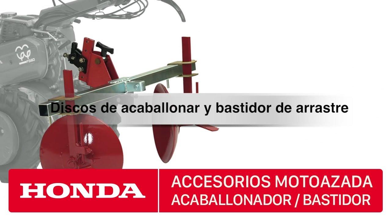 Accesorios para motoazadas honda discos de acaballonar y for Accesorios para toldos de balcon