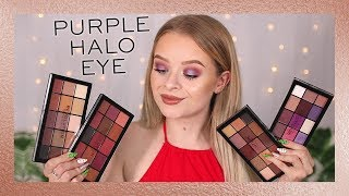 REVOLUTION | NEW RE-LOADED PALETTES + SUMMER PURPLE EYES TUTORIAL!