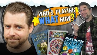 Who's Playing What Now?! + Top 10 Popular Board Games April 2019
