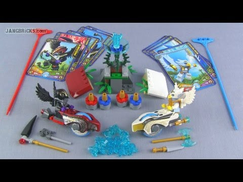 LEGO Chima Speedorz  70114 Sky Joust set Review!