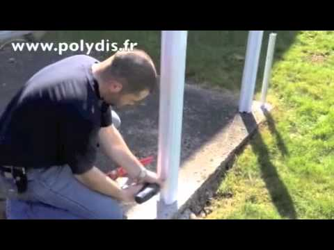 R alisation cl ture pvc youtube for Barriere piscine verre prix