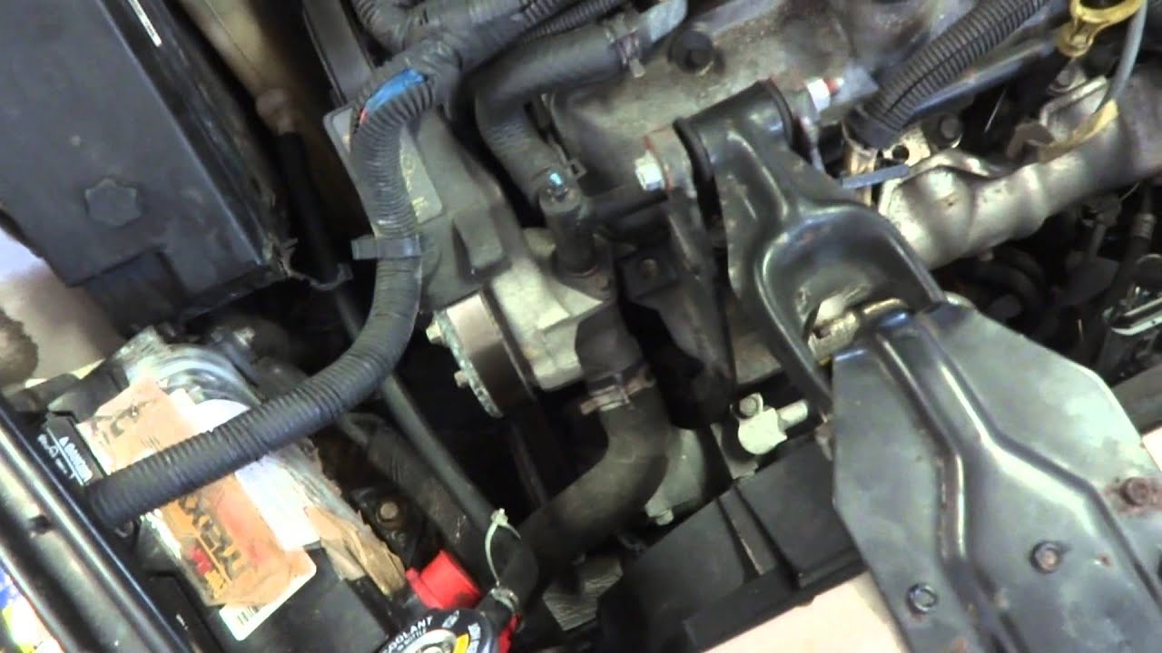 Radiator Installation 2001 Buick Century Part 6 Youtube