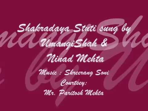 Shakradaya Stuti By Umangi Shah & Ninad Mehta video