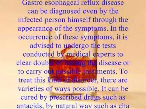 acid reflux disease symptoms