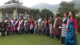 Yado Syimba and Khirkule  Sherpa dance