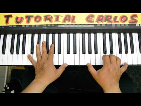 Estas Aqui Julio Melgar Piano Tutorial Carlos