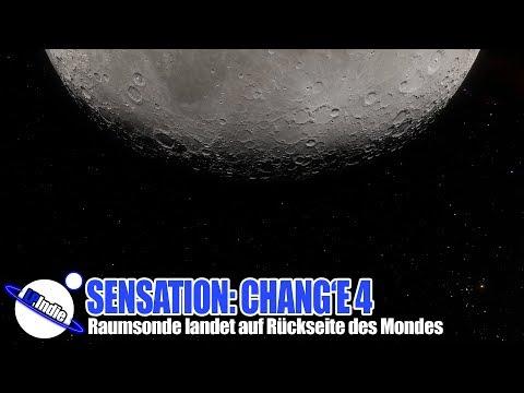 Sensation: China Raumsonde Chang'e 4 landet auf Rückseite des Mondes