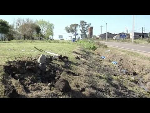 Dos jóvenes de 20 y 21 años fallecieron en accidente en Ruta 7