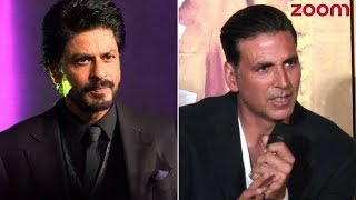 Shah Rukh Khan & Akshay Kumar Still Sharing Cold Vibes?   Bollywood News