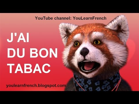 J'AI DU BON TABAC - Comptines Chansons pour enfants Paroles Animation French English kids songs
