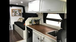 Van Tour - Best Vanlife bed to table conversion