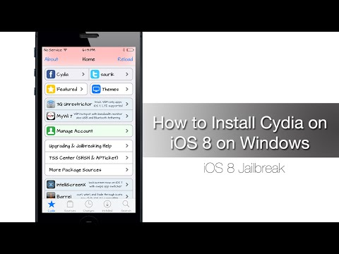 How to Install Cydia on iOS 8.1 - iOS 8 on Windows