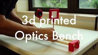 Make it Series: DIY 3d Printed Optics Bench