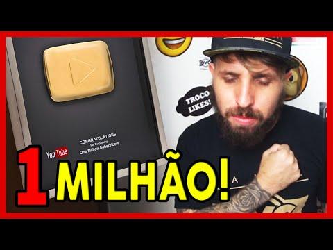 1 MILHÃO DE INSCRITOS! Canal DVC Feat. Zetrê TV
